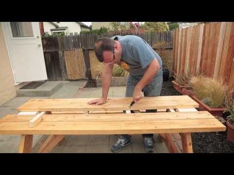 Picnic Table Drink Trough   All   English