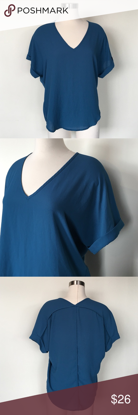 Nordstrom Drop Shoulder Blouse Lightweight top by Lush. GUC. Nordstrom Tops