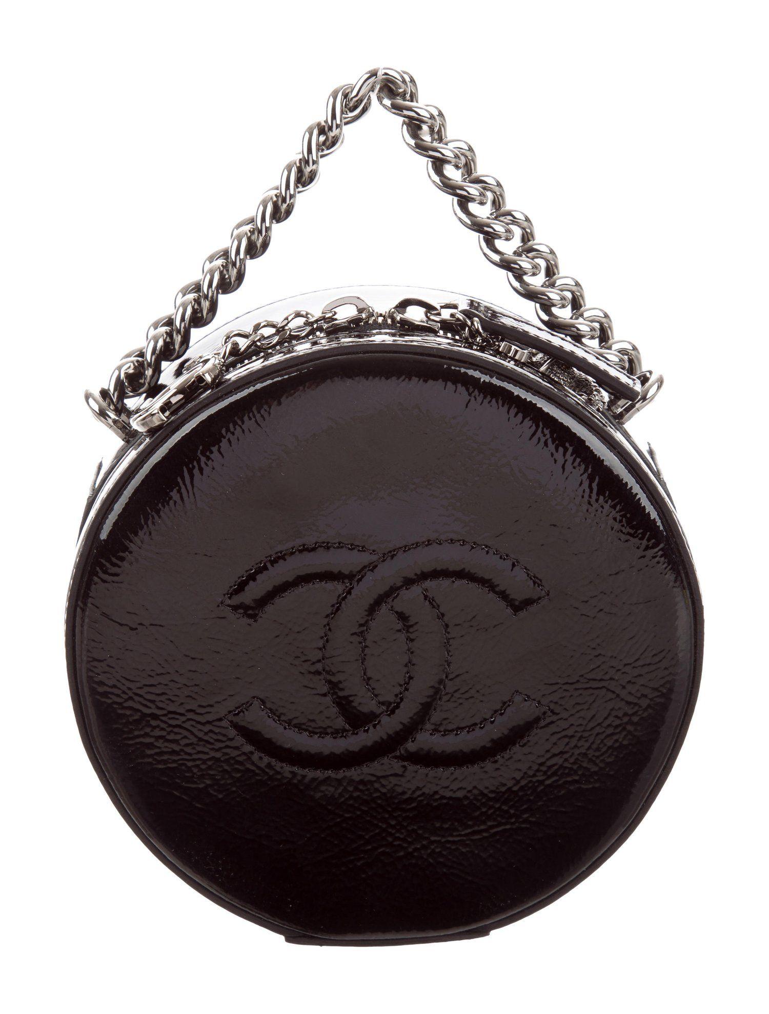 e71e1a8fc386 Chanel 2018 Patent Round as Earth Bag - Handbags - CHA316240