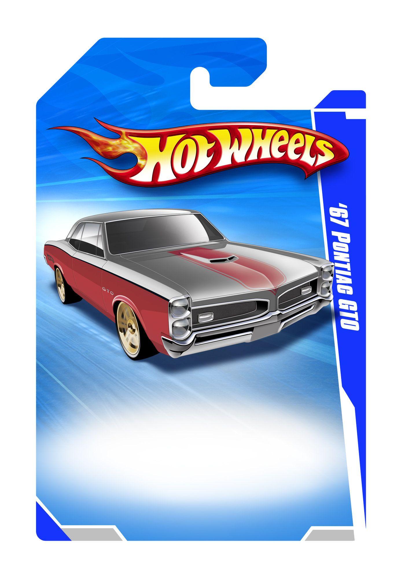 Hot Wheels Template Pontiac Gto Hot Wheels Pontiac Gto Toy Car