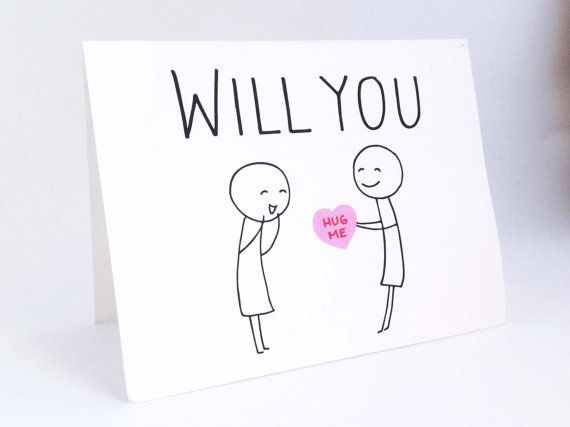 Cute Lesbian Valentines Day Card Funny Card for Her Humorous – Valentine Cards for Her