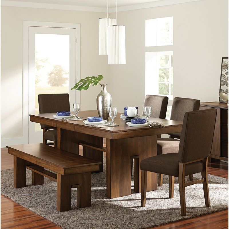 Huntley 6 Piece Extendable Dining Set Dining Table Dining Room Accents Dining Set