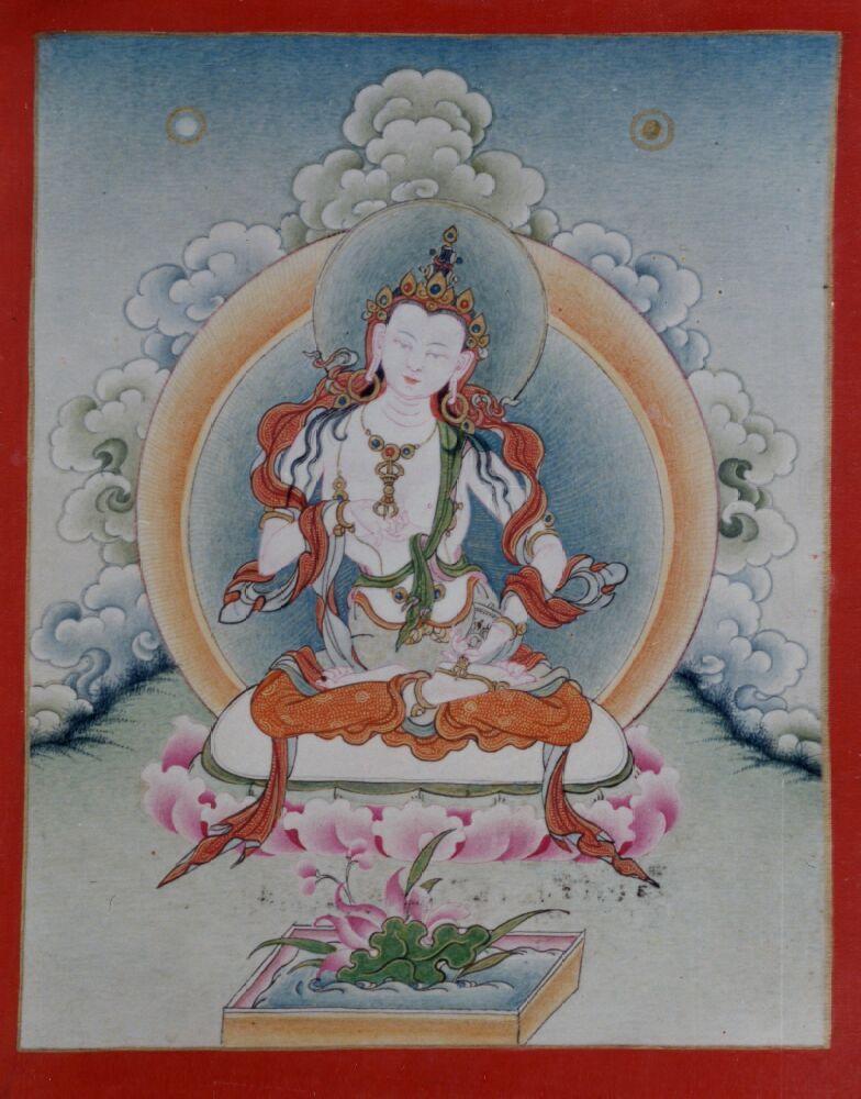 Vajrasattva (Buddhist Deity) White (solitary)