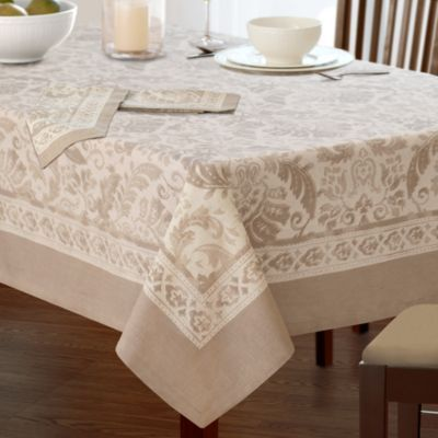 Villeroy Boch Milano Tablecloth 70 X 126 Taupe Table