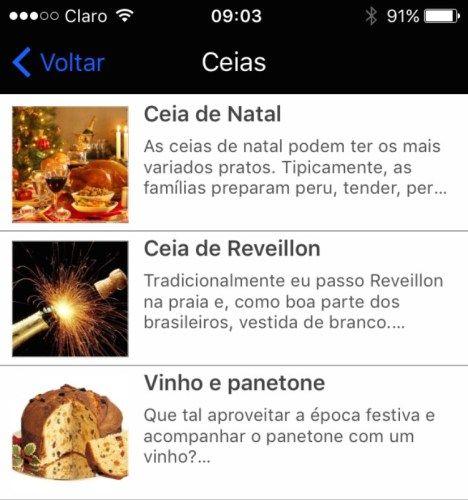 Novidades no app: harmonização para Natal e Reveillon - Alessandra Esteves