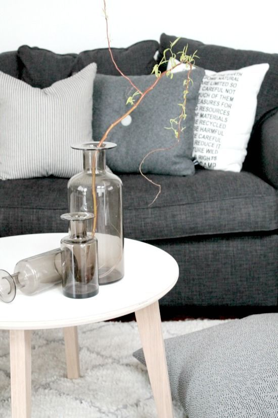 Like The White Coffee Table Would Link The Lounge To The Kitchen Couch Decor Home Decor Interior