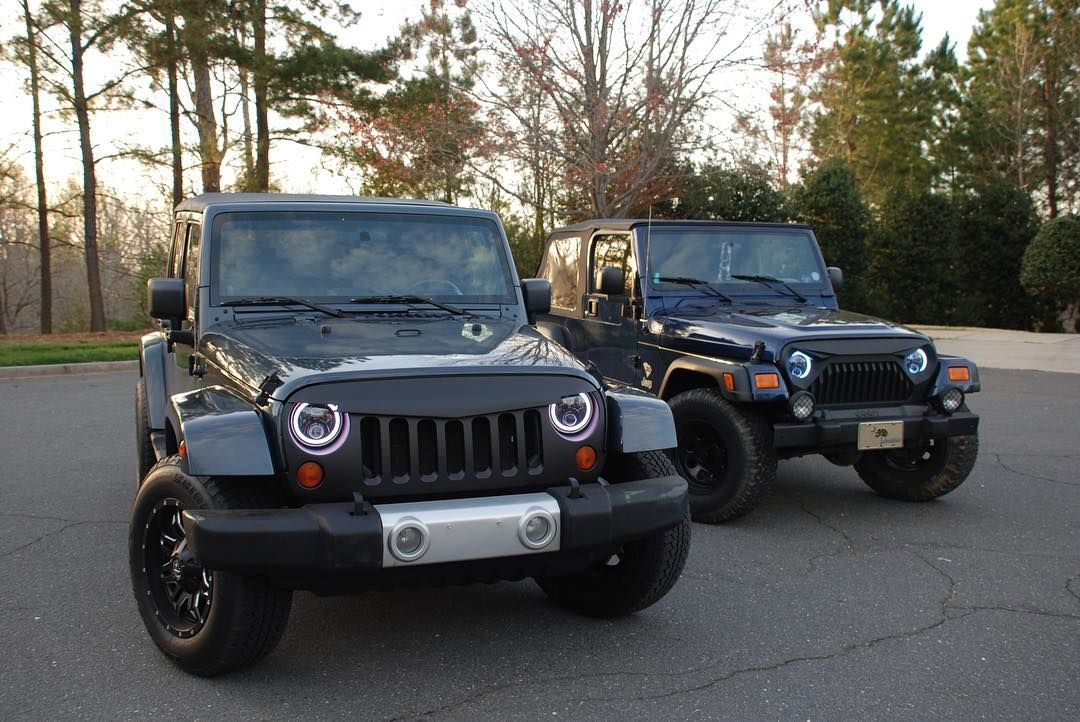 Halo Lights For Jeep Wrangler >> Jeepwrangler Halo Lights Jeephalo Jeepjk Jeep Wrangler