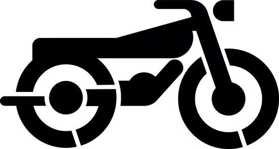 Motorcycle Stencils