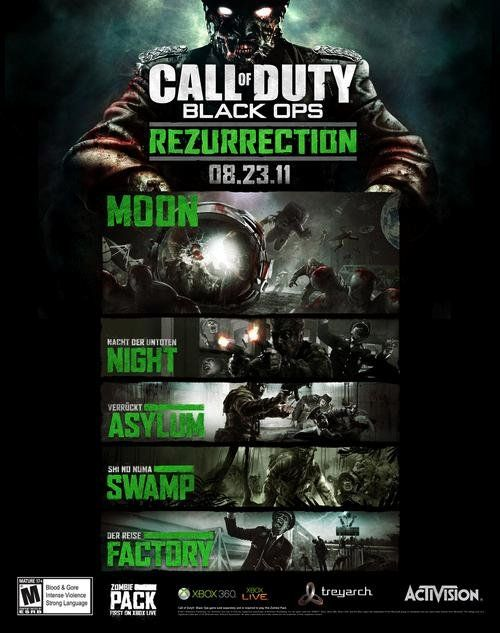 Rezurrection call of duty black ops map pack to be released august rezurrection call of duty black ops map pack to be released august 23rd on xbox 360 gumiabroncs Images