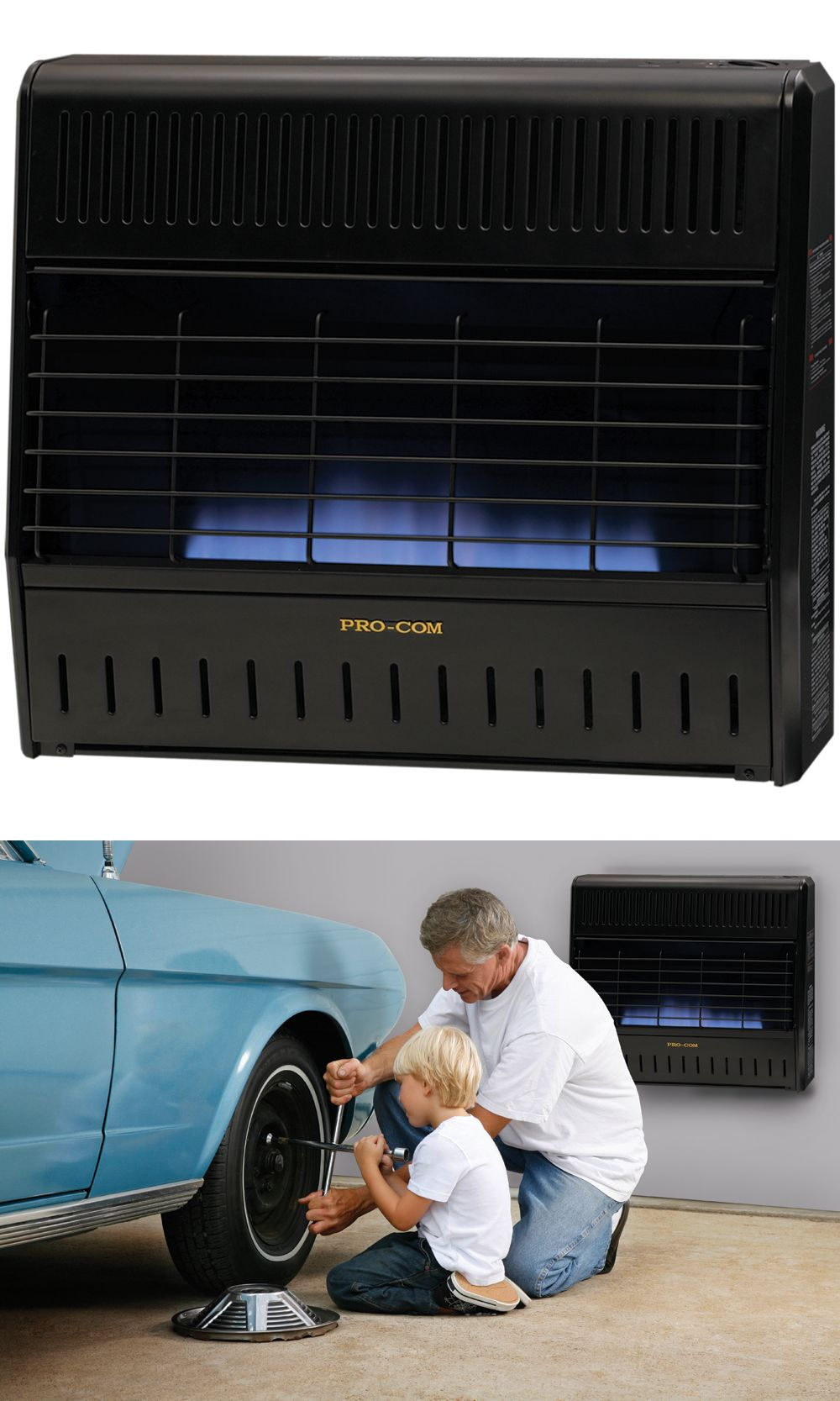 Air Conditioners And Heaters 185107 Procom Recon Dual Fuel Ventless