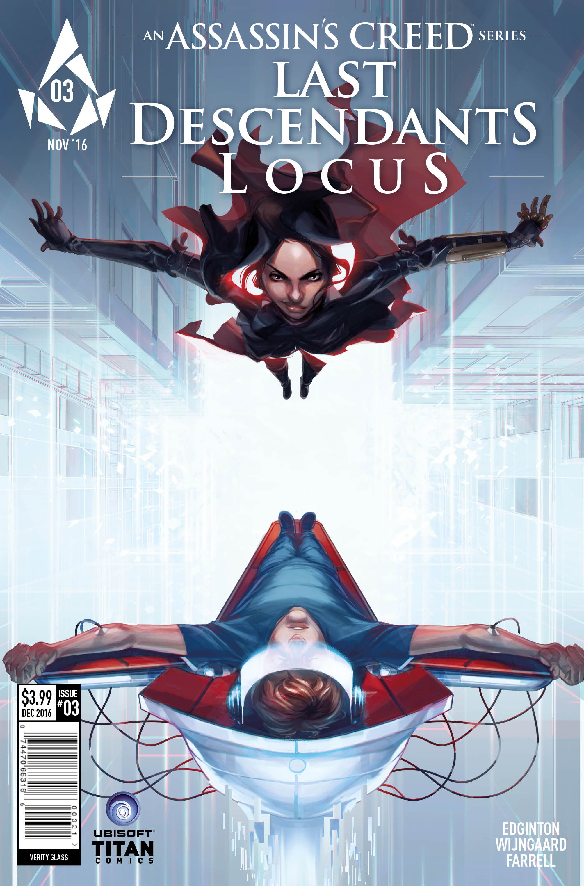 Assassin S Creed Last Descendants Locus Issue 3 Comic Review