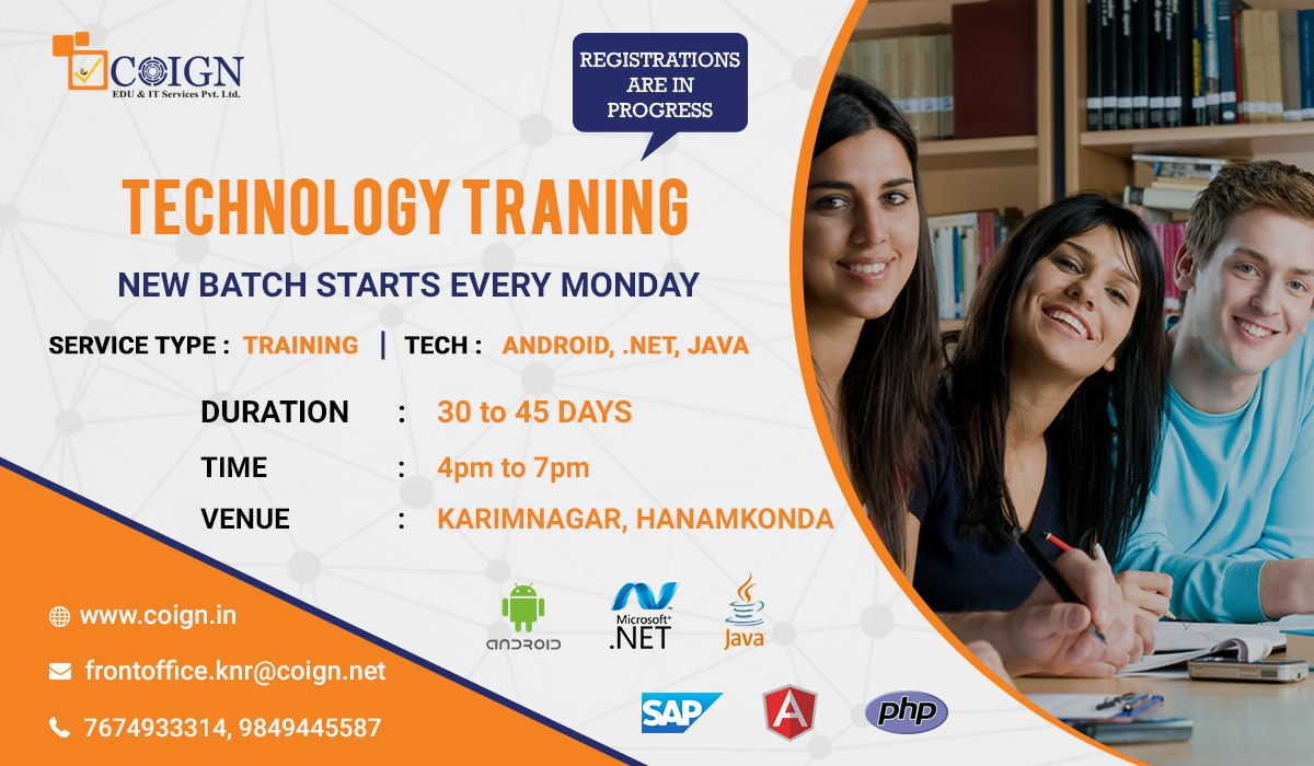 Technology Training On Android Net Java Is About To Start At India S Most Renowned Software Trainin Public Speaking Tips Presentation Skills Public Speaking