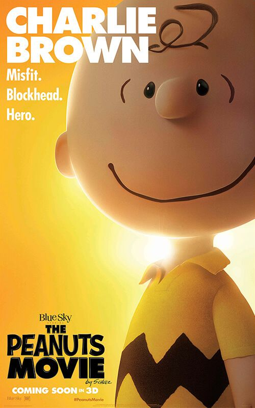 The Peanuts Movie 2015 ~ Love you Charlie Brown!!