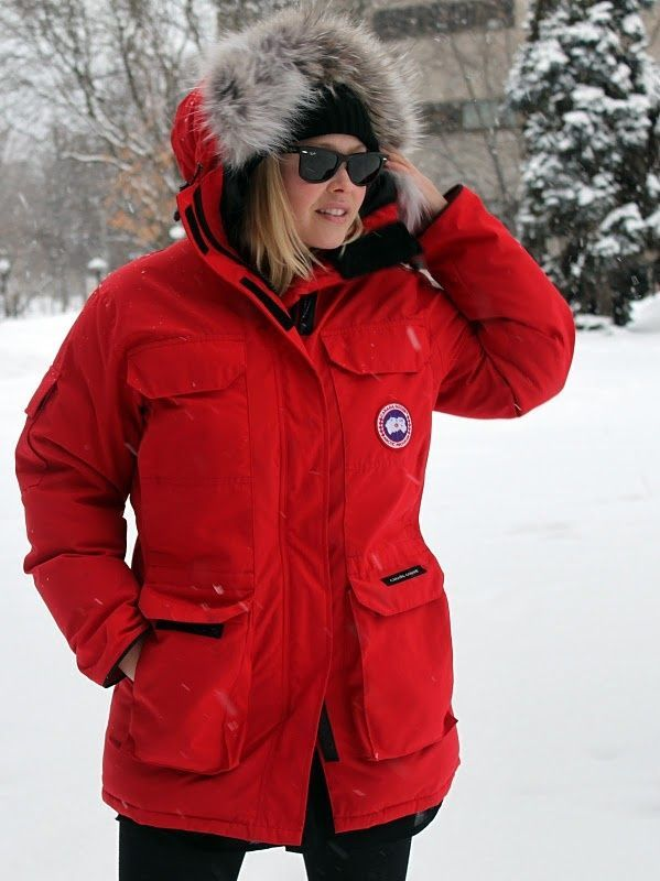 canada goose parka winterwear womenstyle ropa. Black Bedroom Furniture Sets. Home Design Ideas