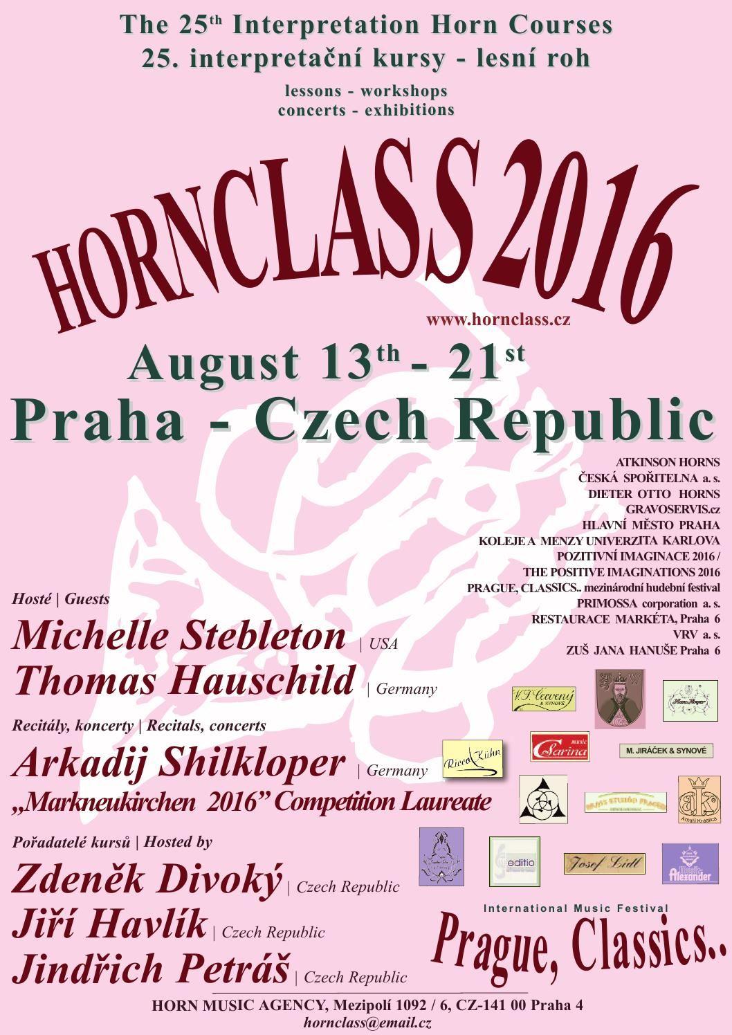 Hornclass 2016