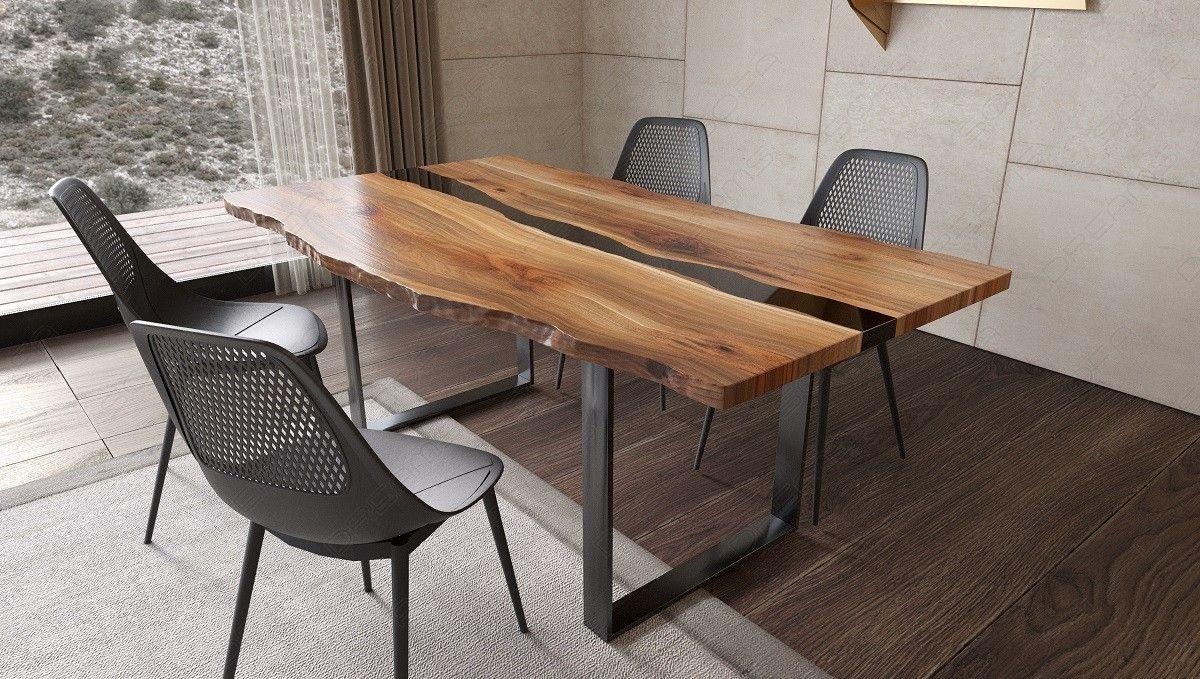 Esstisch Holz Epoxidharz Teramo Esstisch Holz Haus Interieur