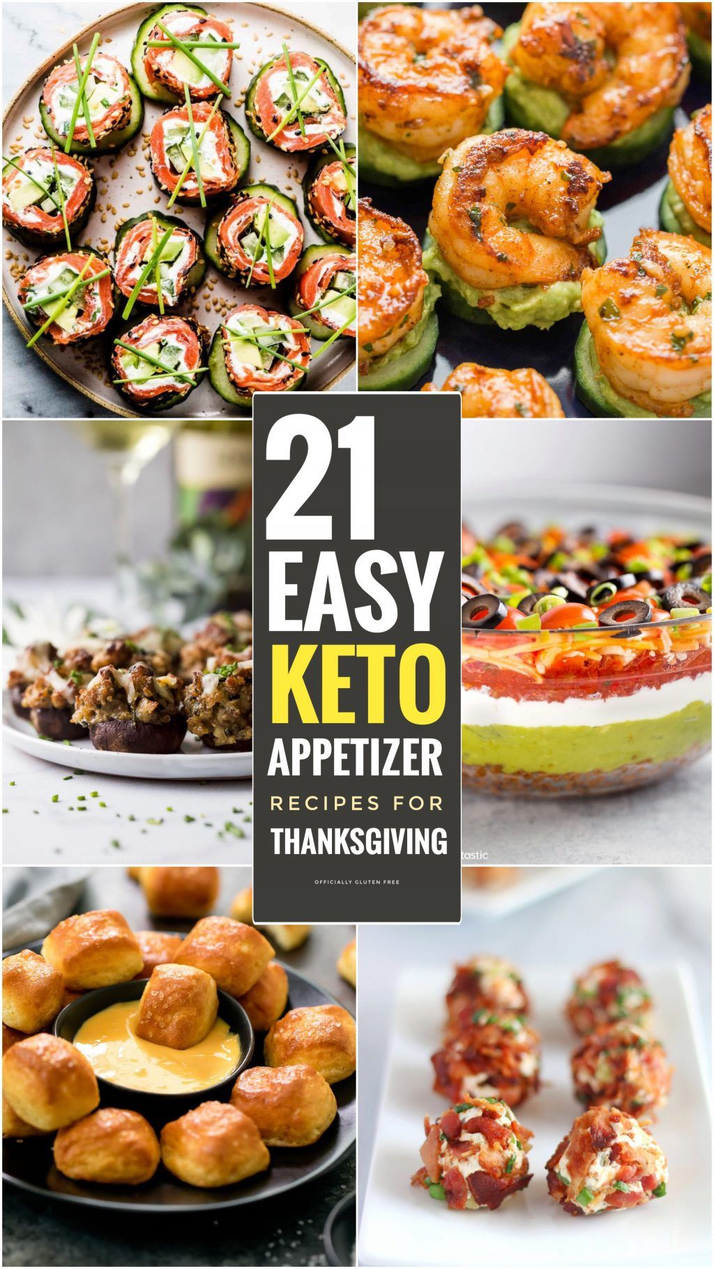 21 Easy Keto Appetizers for Thanksgiving | Holiday Appetizer Recipes