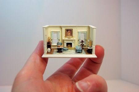 iheartminiatures:    1:144 scale roombox