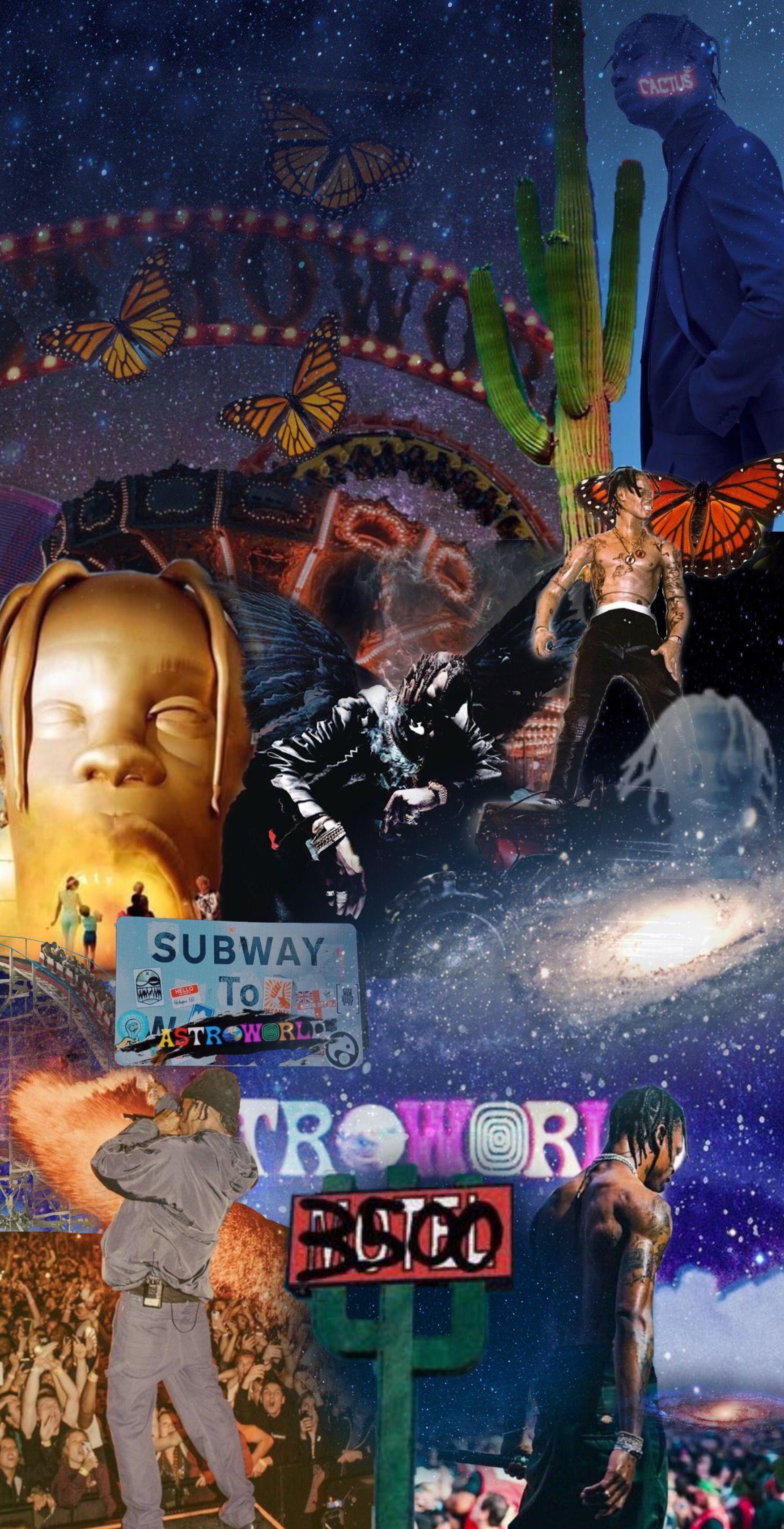 Astroworld If You Enjoy This Picture Comme Travis Scott Iphone Wallpaper Travis Scott Wallpapers Rap Wallpaper