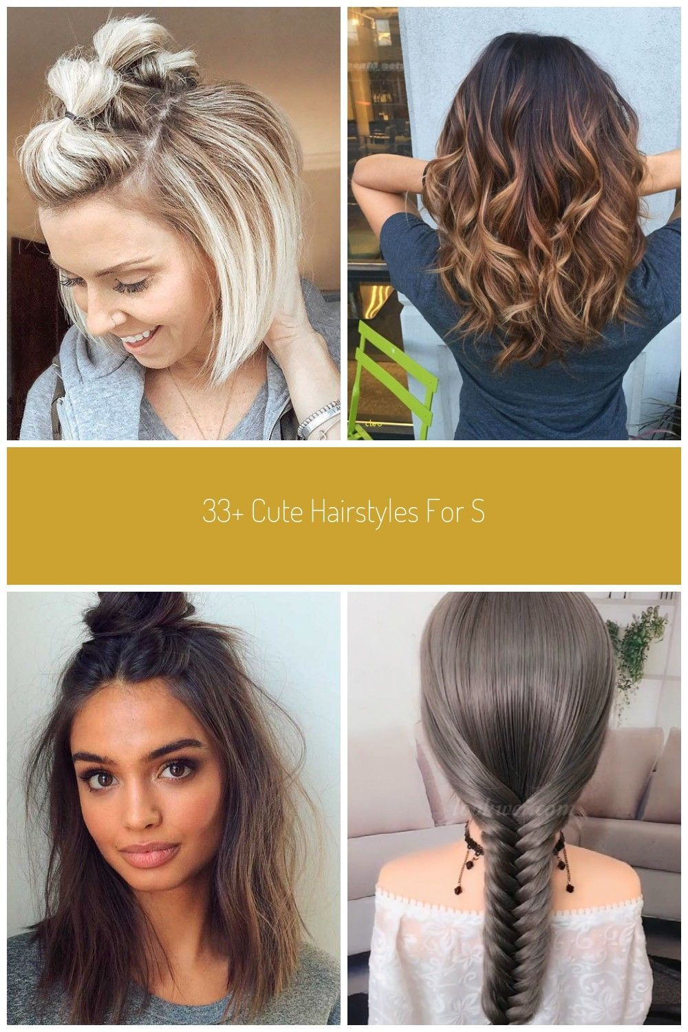 New Cute Hairstyle Makeover 2020 In 2020 Hair Makeover Hair Styles Cute Hairstyles For Short Hair