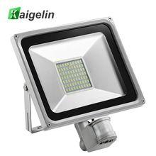 Us 21 23 50w Pir Infrared Motion Sensor Flood Light 220v 240v Smd 5730 5500lm Pir Sensor Led Floodlight Led Lamp For Outdoor Lighting Aliexpress Product
