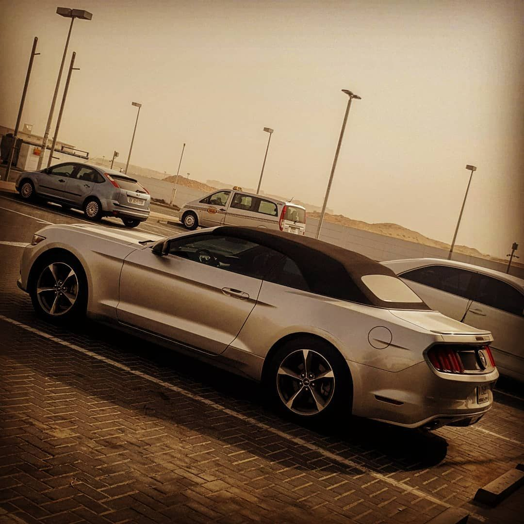 Dubai Ford Stang Mydubai Uae V6 S550 Muscle Fordmustang Instagram Carporn Horsepower Silver American Igmustangs Stang Car Model Ford New Cars