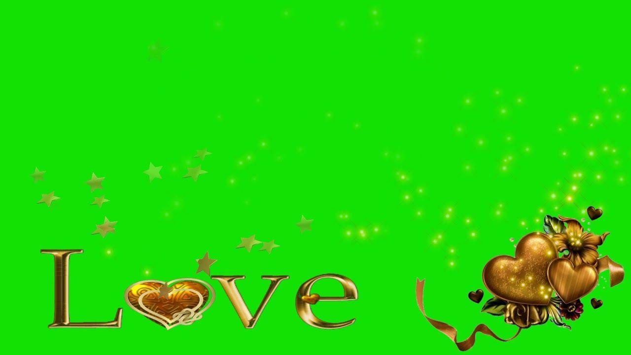 green screen effects video-heart effect green screen(star video