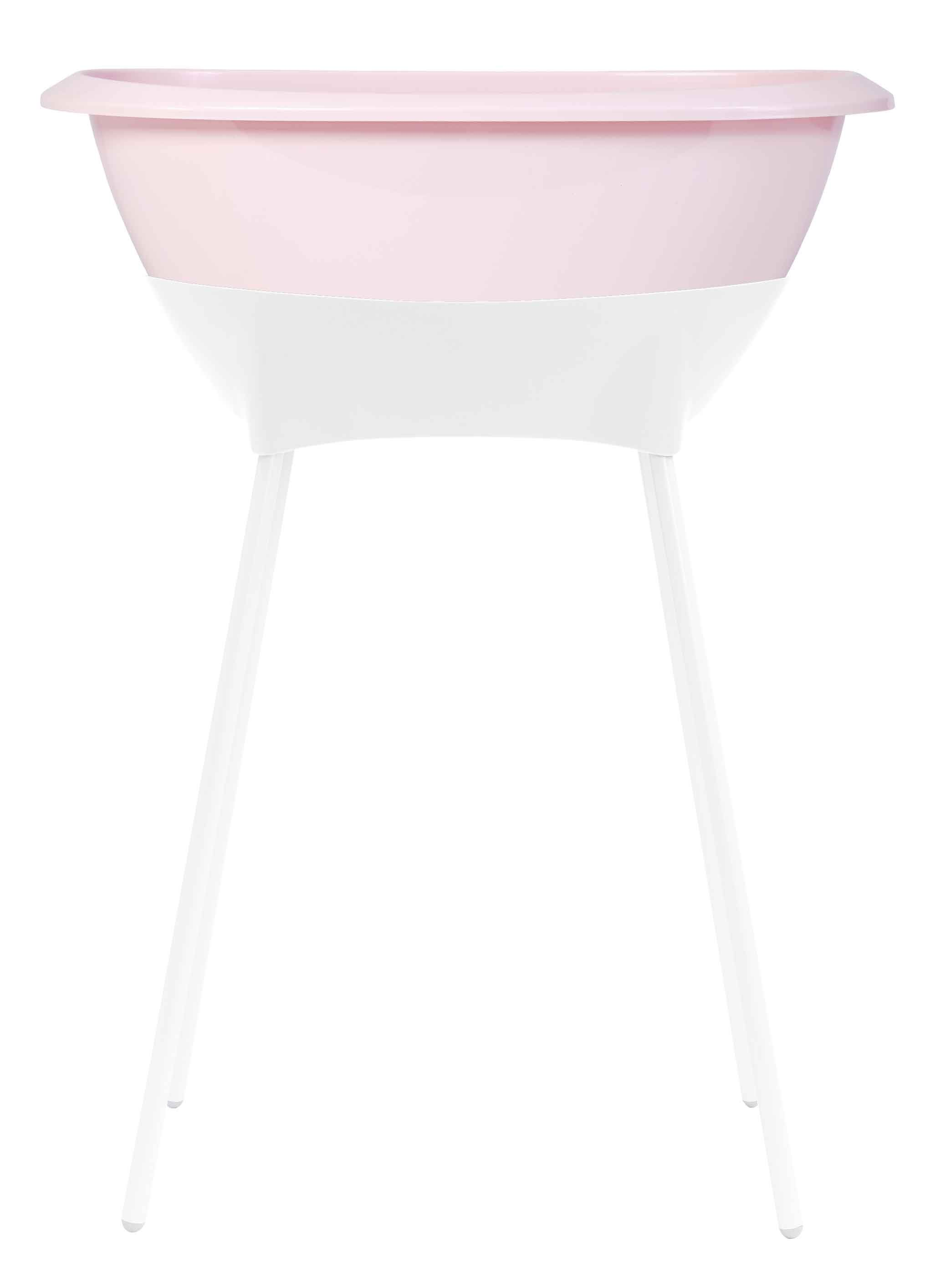 Beautiful designed LUMA baby bath + bath stand | LUMA Pretty Pink ...
