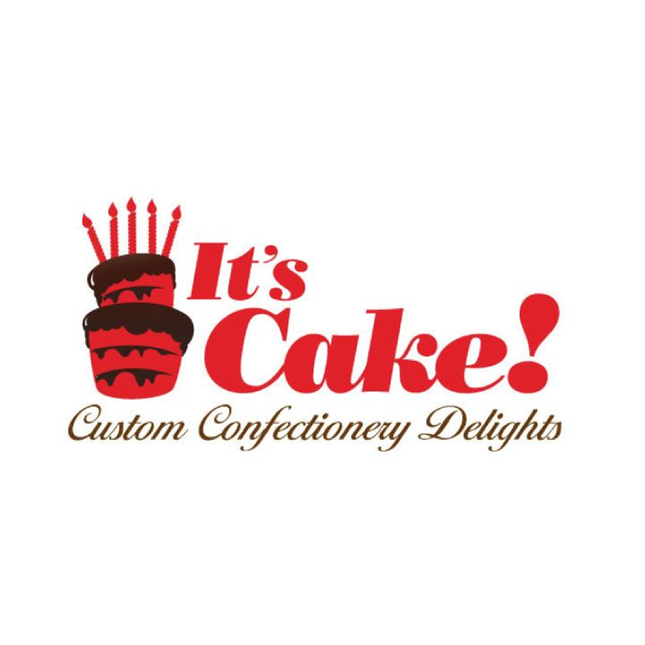 Logo design for It's Cake! Custom Confectionery Delights ...