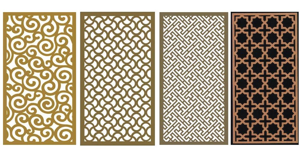 Decorative Metal Wall Panels Decorative Wood Grill Panels