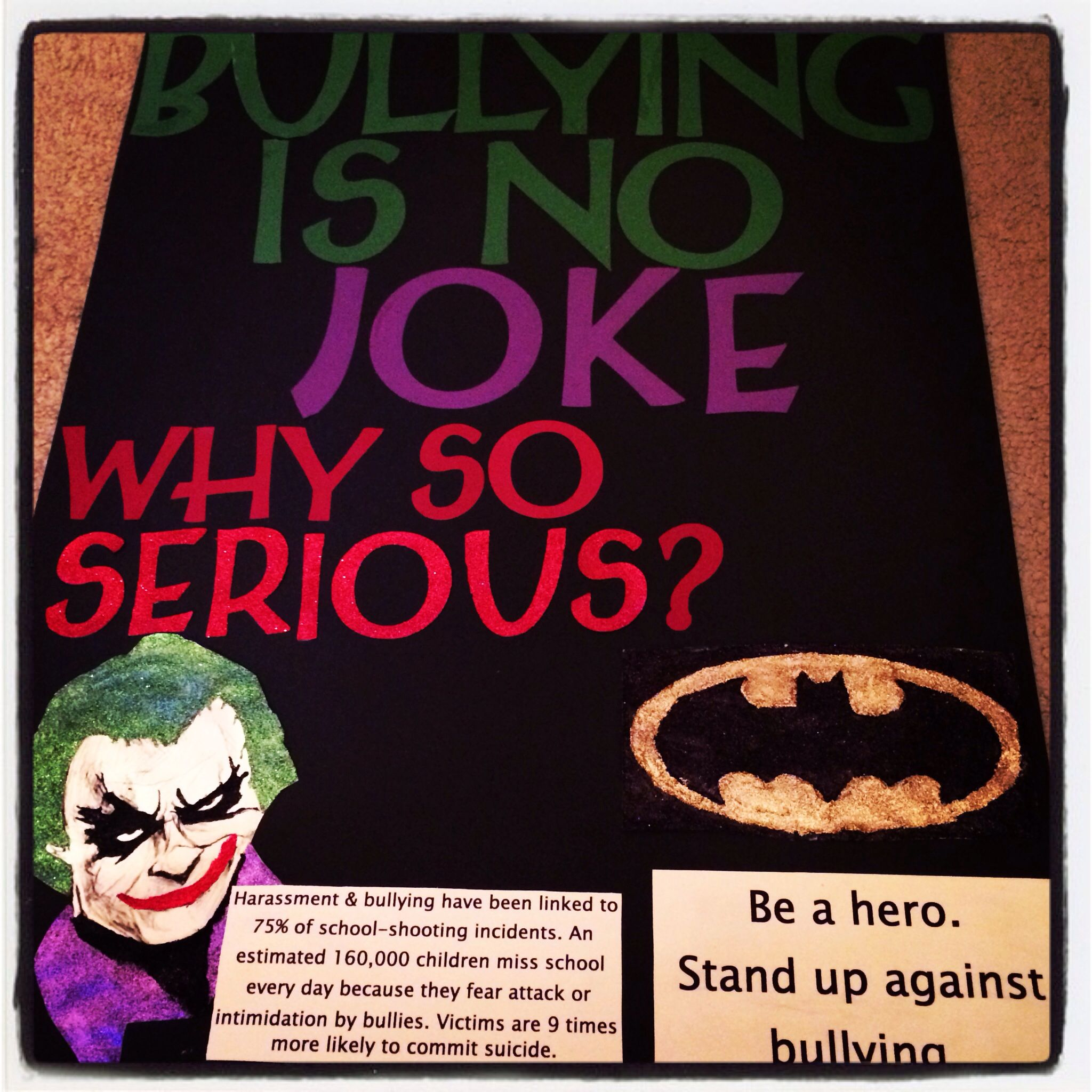 Anti-bullying poster | Teaching | Pinterest | Bullying ...