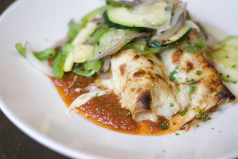 Zesta Cucina S Chicken Canneloni Fresh Sheet Yakima Restaurants