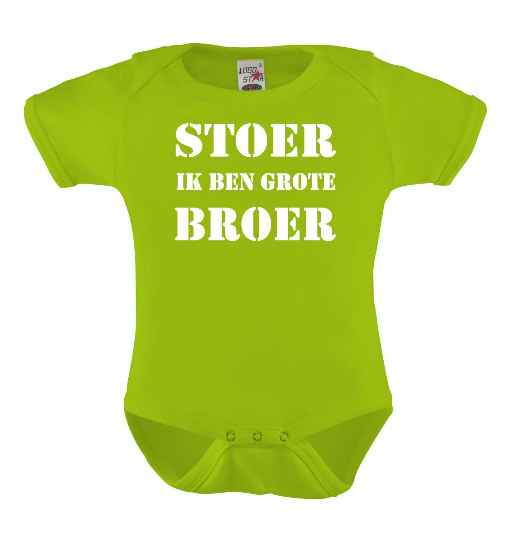 Kinderkleding Bedrukken.Stoer Ik Ben Grote Broer Romper Bedrukken T Shirt Bedrukken Naam