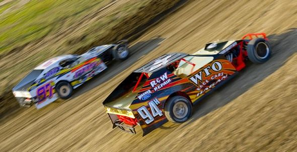McCook Speedway in McCook, NE is a 3/8-mile clay dirt track