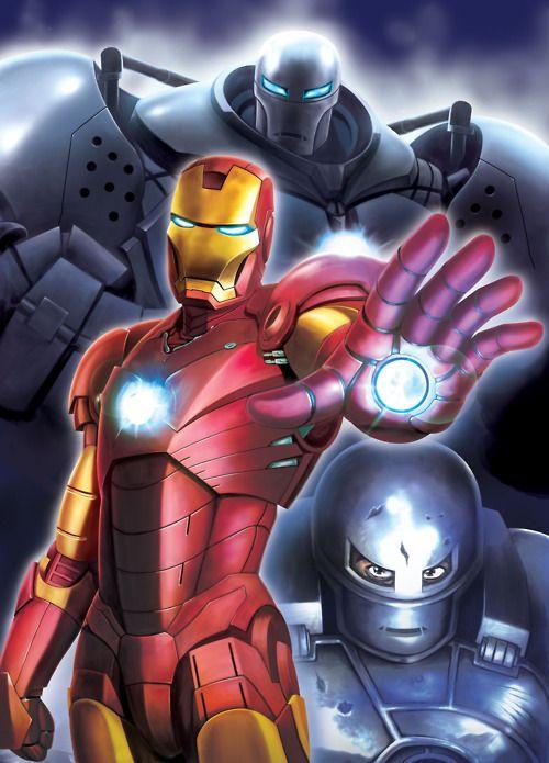 Iron Man and Iron Monger