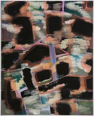 "Ariel Dill, Club Scene, 2012, acrylic and oil on canvas, 20"" x 16"""