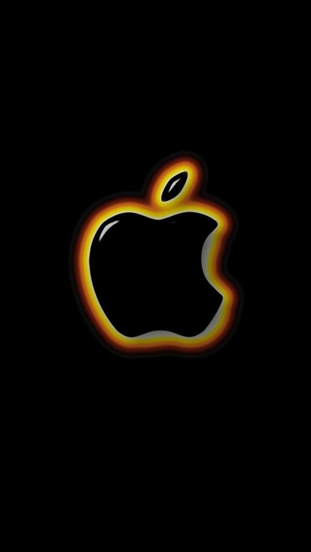 Red Apple Logo Iphone Wallpaper Bing Images Apple Wallpaper
