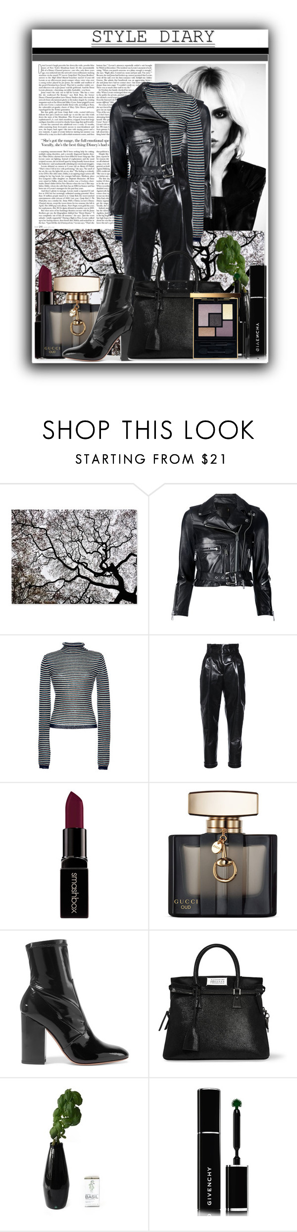 """08.04.16"" by nicolekimlopez24 on Polyvore featuring R13, Etro, Philosophy di Lorenzo Serafini, Smashbox, Gucci, Valentino, Maison Margiela, Givenchy and Yves Saint Laurent"