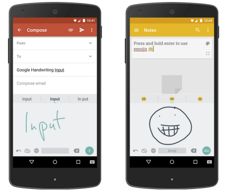 Google releases their own Handwriting Input app - https://www.aivanet.com/2015/04/google-releases-their-own-handwriting-input-app/