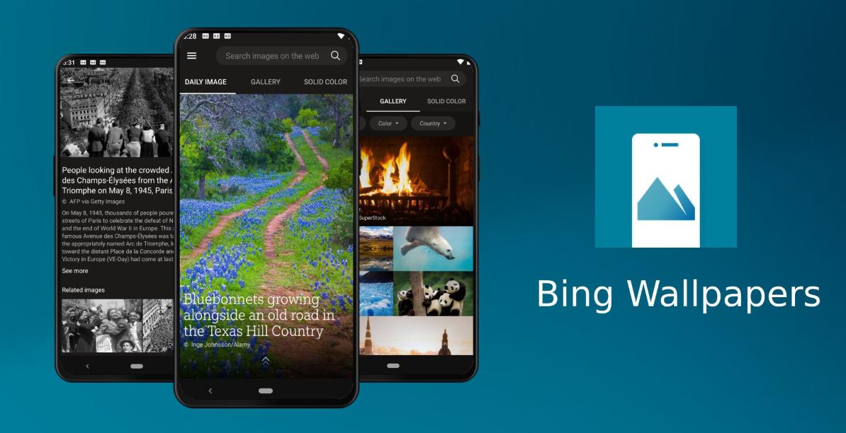 جديد تطبيقات مايكروسوفت Bing Wallpapers الذي ي قد م خلفيات جميلة على أندرويد In 2020 Texas Hill Country Public Wallpaper