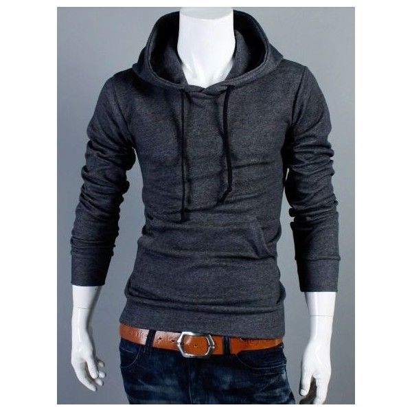 New Mens Fashion Hoodies Sweatshirts Slim Fit Hooded Jacket Zipper Top HD02