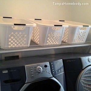 Laundry Organization Toss And Run