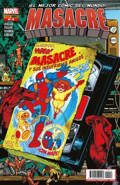 Masacre Vol 5 13 Marvel Dead Pool Cómics