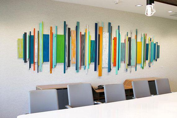 Corporate Artwork Office Wall Decor Wood Wall Art Modern Etsy Office Wall Decor Corporate Artwork Modern Wall Sculptures