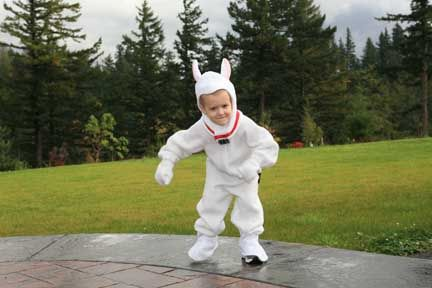 From A To Z How To Make A Disney Bolt Costume And Rhino Too Disney Halloween Costumes Halloween Costumes For Kids Halloween Kids