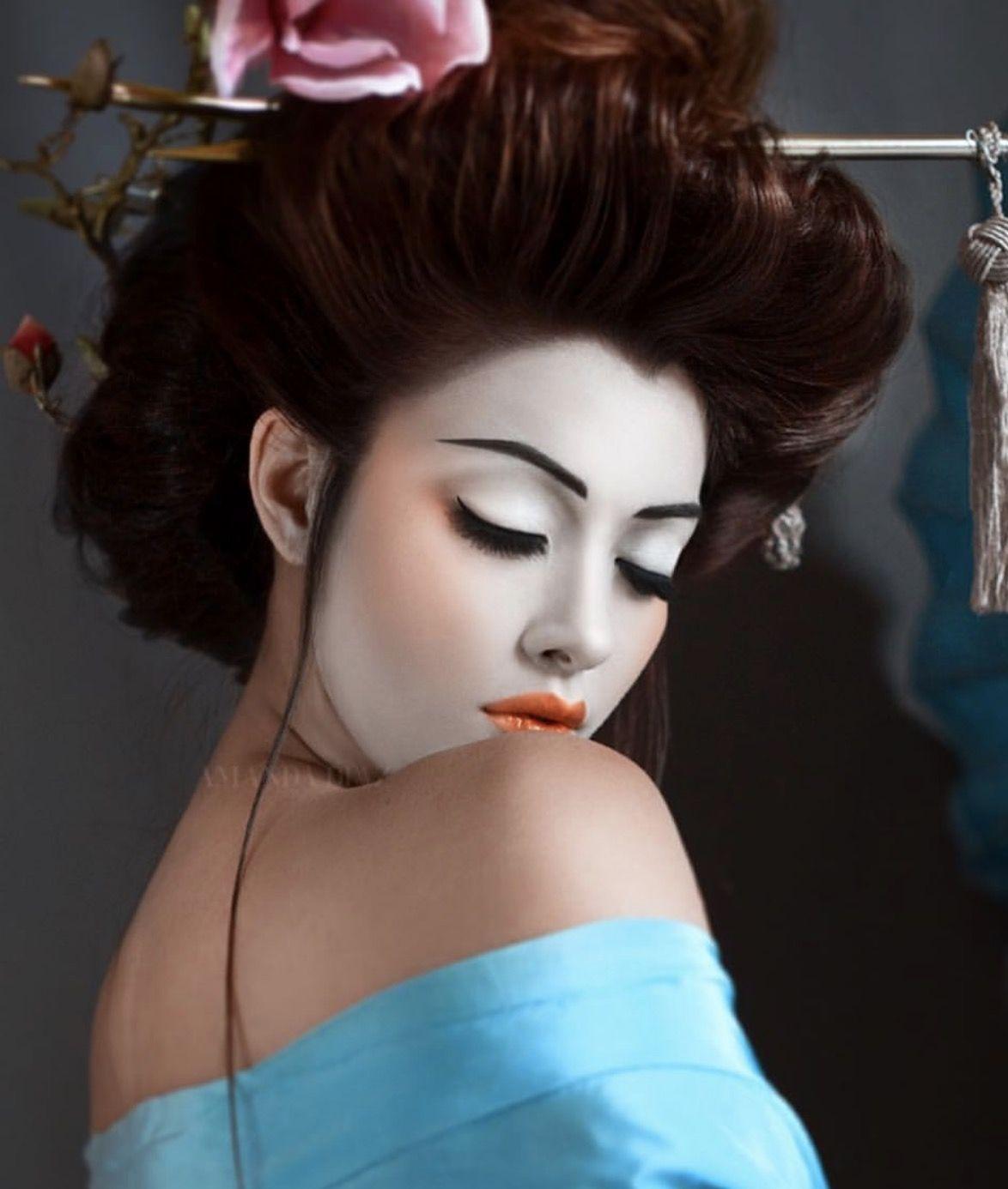 Картинка японские макияж