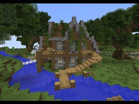 Minecraft Rustic House Tutorial