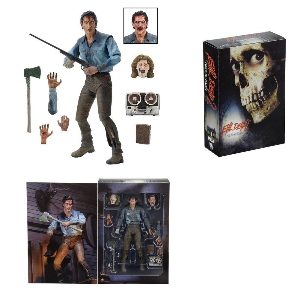 "Ash 7"" Action Figure Evil Dead 2 NECA Ultimate Edition Free Shipping New In Box #NECA"