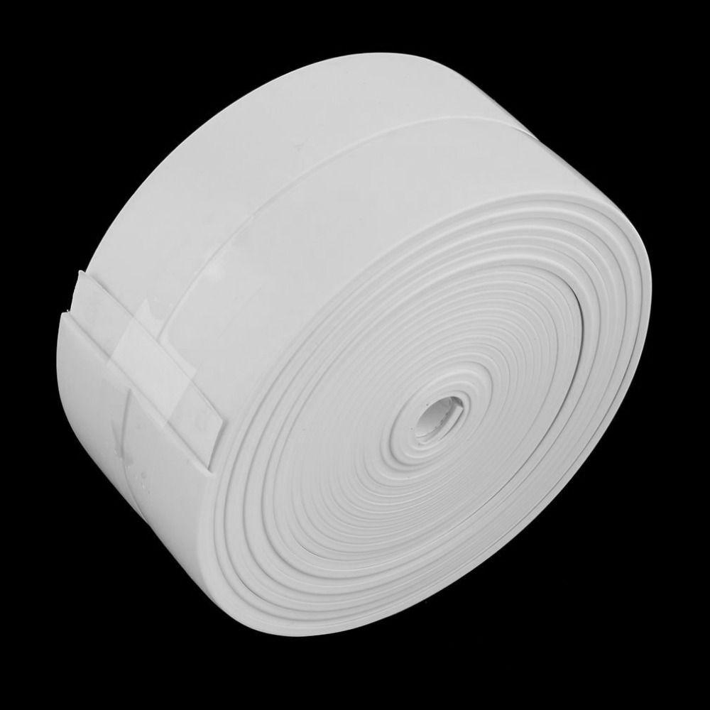 3 4mx38mm Bathroom Shower Sink Bath Sealing Strip Tape White Pvc Self Accesstor Bathroom Wall Stickers Bathroom Shower Diy Home Cleaning