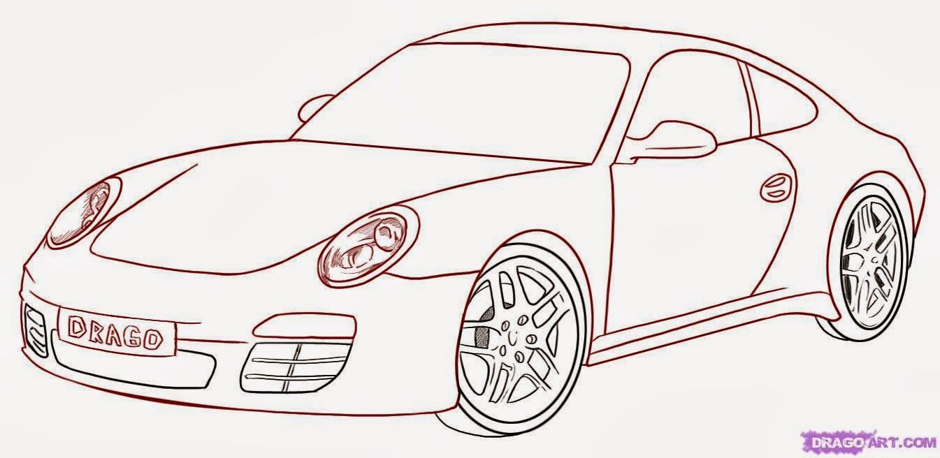 Car Drawings Car Drawings Cool Car Drawings Step By Step Drawing